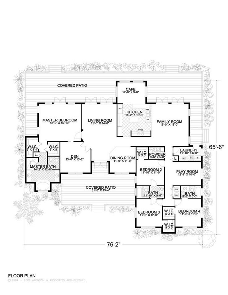 I would make Bed 3/4 into master and make the master the in-law suite (with smaller closet and bath) ~ House Plan # 107-1019
