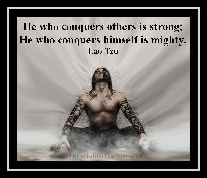 Lao Tzu Wisdom!  http://ninjanunchucks.com/  #wisdom #lau tzu #karate #kung fu #martial arts #quote #quotes #motivation #motivating #motivational #taekwondo #ninja #ninjas #martial art #fighting #fight #mma #conquer #strong #mighty