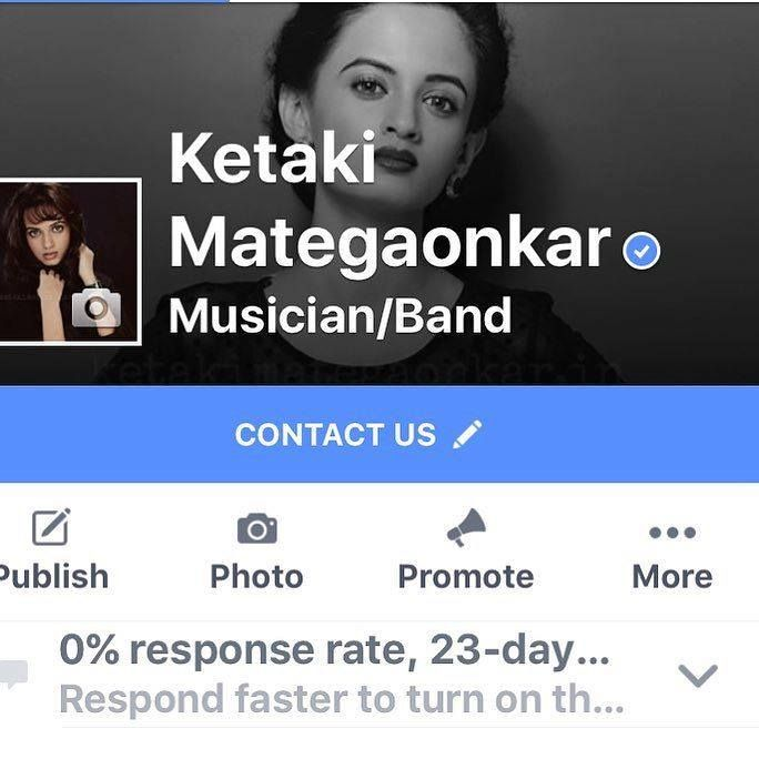 #APITConnect - To all the lovely fans and friends. My Official Facebook Page verified. Please follow the official page only. Thanks to Facebook. All my Love.  by Ketaki Mategaonkar http://bit.ly/21WuPED