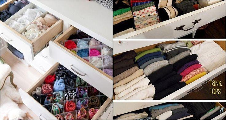 Cómo organizar la ropa