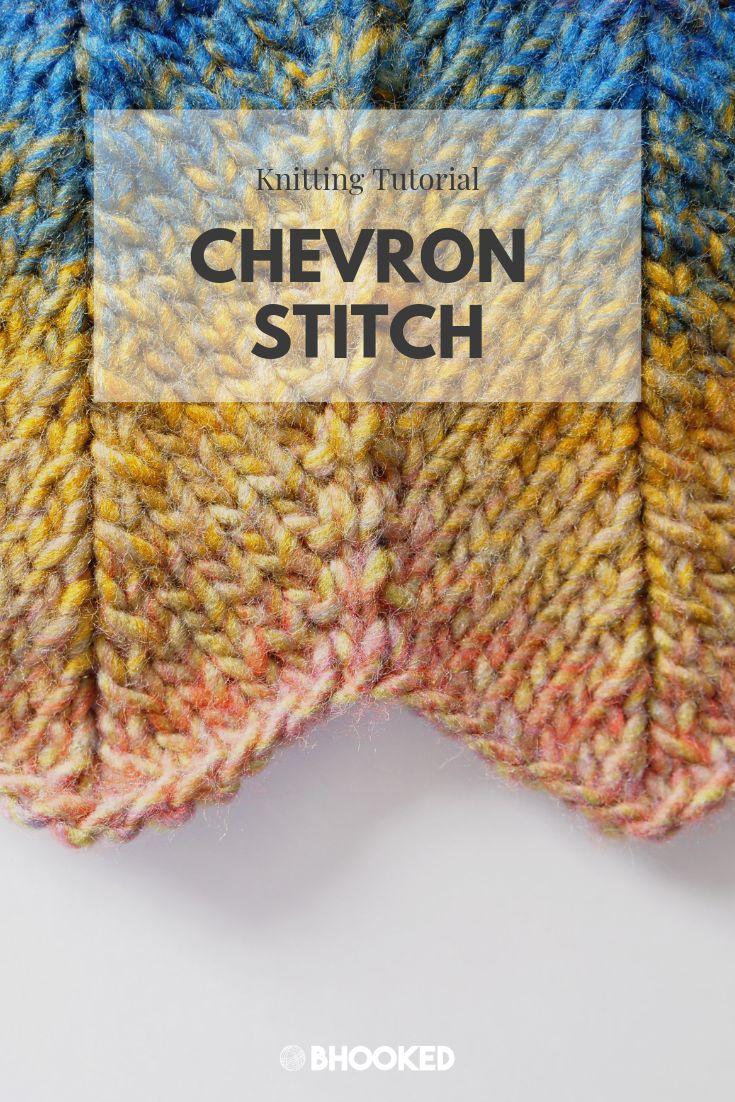 How to Knit Chevron Stitch