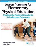 One of our new textbooks! Lesson Planning for Elementary Physical Education