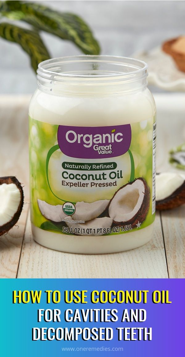 how to use coconut oil for cavities