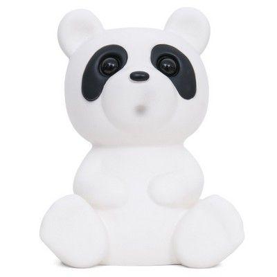Lapin and Me Panda Lamp White