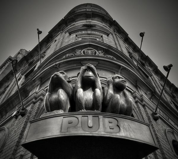 Three Wise Monkeys Pub. Sydney, Australia.