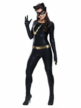 New Hot Halloween Fancy Dress Anime Catwoman Costume Adult Sexy Cat Gothic  Cosplay For Women Costume