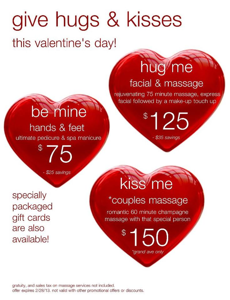 Special Valentine's packages from Phresh Spa Salon