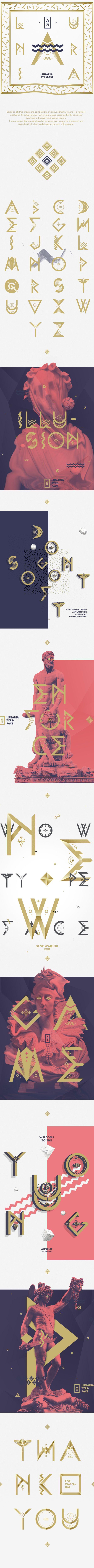 Lunaria by Vitor Braz, via Behance  Art Art director cover Artwork Visual Graphic Mixer Composition Communication Typographic Work Digital Japan Graphic Design
