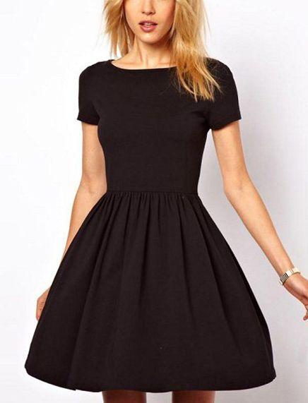 Resultado de imagen de vestidos  negro