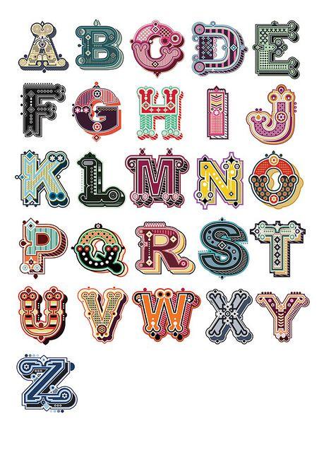 illustrated type project by Jonny Wan FLICKR SET www.flickr.com/... www.jonnywan.com/ #typography #fonts #typefaces #illustrations #art #letters #alphabet