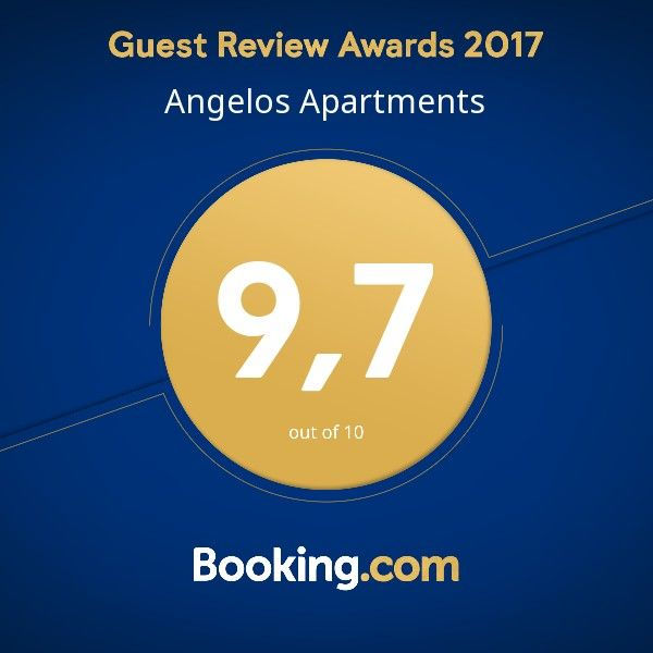 A BIG THANK YOU to all our guests for taking the time to support our efforts with their kind words, for raising our score from 9.6/10 to 9,7/10 and for giving us for third consecutive year the booking.com award. #angelos_apartments #alonissos #sporades #greece #summer2018 #guestsloveus #award #reviews #guests #hospitality