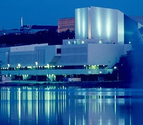 Finlandia House in Helsinki, by Alvar Aalto.
