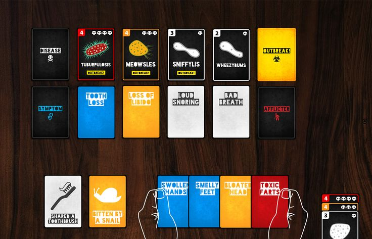 Game setup for Death Wish #cardgames #kickstarter #boardgames