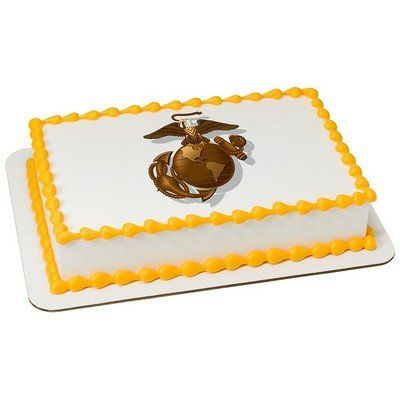 US Marine Corps Licensed Edible Cake Topper 8432 * Want to know more, click on the image.