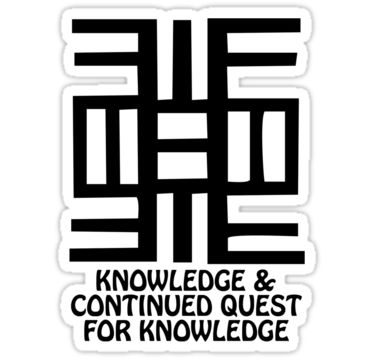 Symbol Of Knowledge And Learning