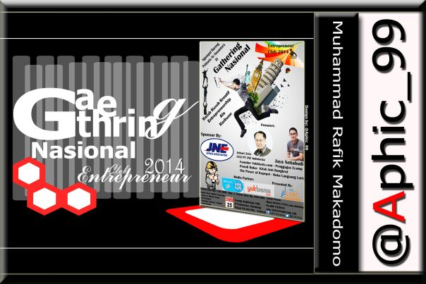 "In the 2014 Entrepreneur of the archipelago gathered in a large-scale national event titled ""Gathering Nasional Entrepreneur Club 2014."" In this event can share and..."