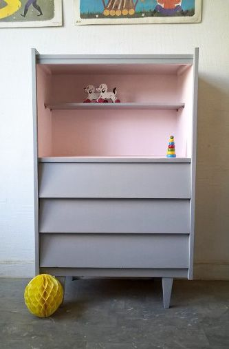 Petit secrétaire vintage www.monpetitmeuble.com