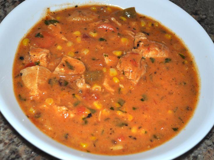 Southwestern Chicken Corn Chowder  (Pressure Cooker)  (R)