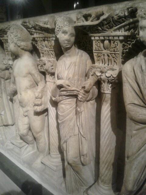 Sidamara Type Sarcophagus, Marble, Sardia (Salihli - Manisa), Roman Period, 2nd c. A.D.