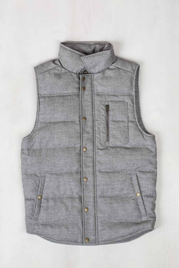 how to wear a wool vest