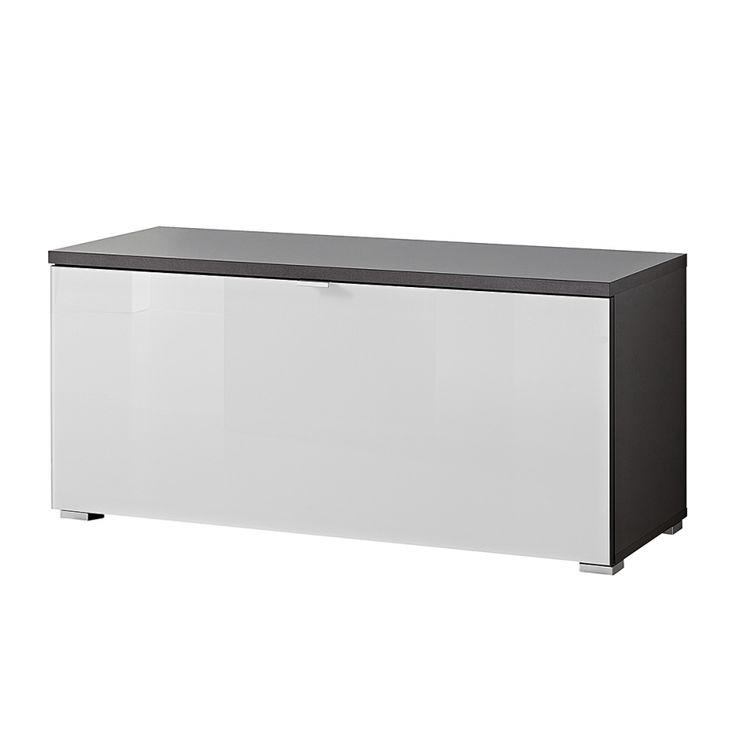 189,99 - Schuhbank Alada - Weiß / Anthrazit