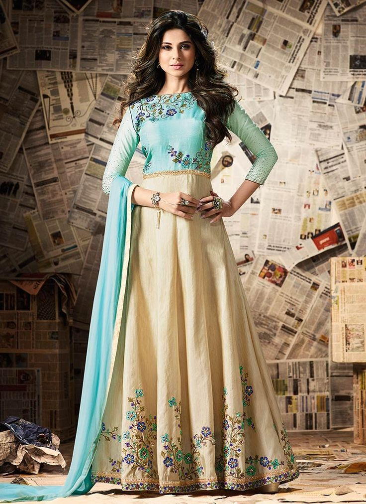 Classy and elegant designer floor length anarkali suit is now up for buys. Shop on: www.theivoryneedle.in or call/whatsapp +919994996000 for booking.  #ethnicwear #fashion #partywear #stylish #elegance #sarees #salwarkameez #lehengas #bridalwear #womenfashion #colors #fashionable #festivewear #designersuit