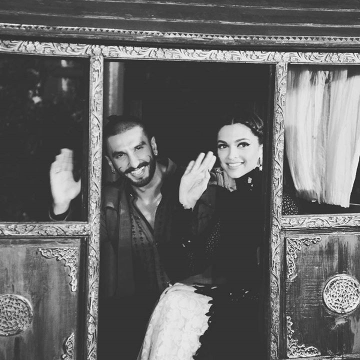 Deep ♥ and Ranveer Singh #BajiraoMastani