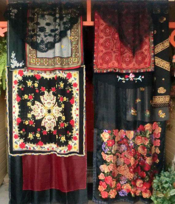 FAREWELL to STORYVILLE  Handmade Gypsy Curtains by BabylonSisters