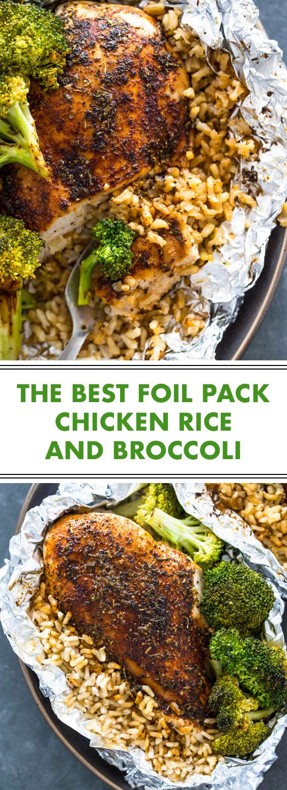 ★★★★★ 22 opinion: The best chicken and broccoli chicken foil pack | This …   – recipes