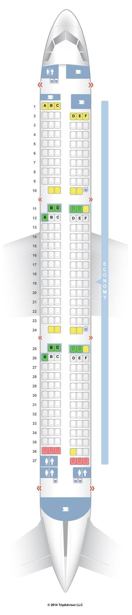 SeatGuru Seat Map airberlin Airbus A321 (321) - SeatGuru