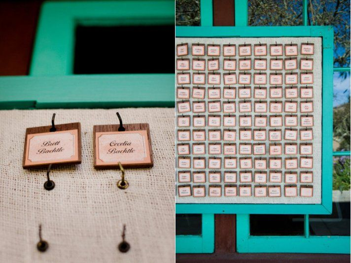 10 Creative Wedding Ideas for Escort Cards | OneWed