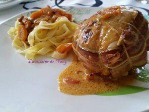 Paupiettes de dinde, chorizo et carottes au Cookéo