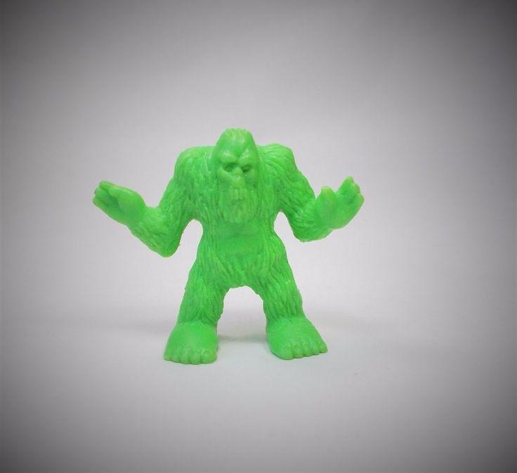 Monster in my Pocket - Series 1 - 17 Bigfoot - Neon Green NG MEG MIMP