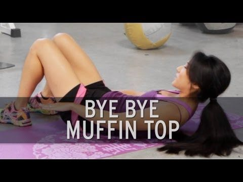 Total ab workout: no more muffin top - Videos - The Running Bug