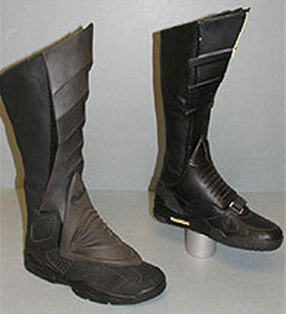 Tim Burton's Batman wore Nike Air Trainers and Air Jordans, NBD.