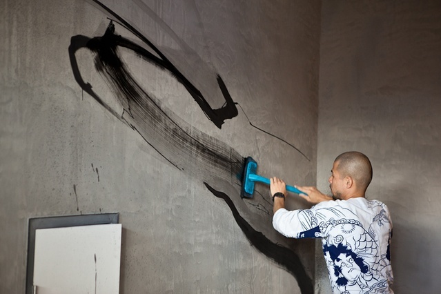 Jun Inoue: in-house graffiti | ArchitectureAU