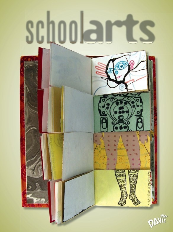School Arts Digital Magazine by Davis  so many great lessons and articles! I have done this it comes out s cute!