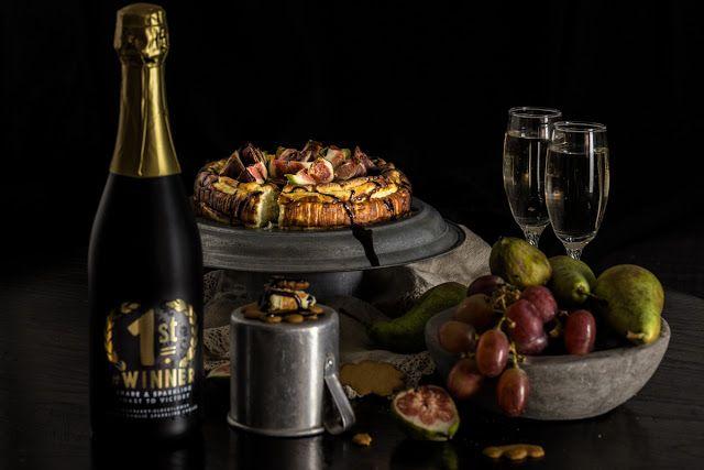 Hellan ja viinilasin välissä: Gorgonzola cheesecake