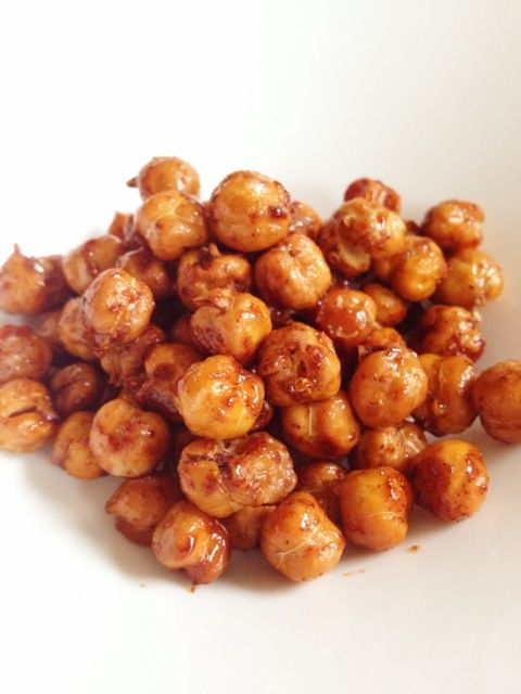 Cinnamon & Honey Roasted Chickpeas