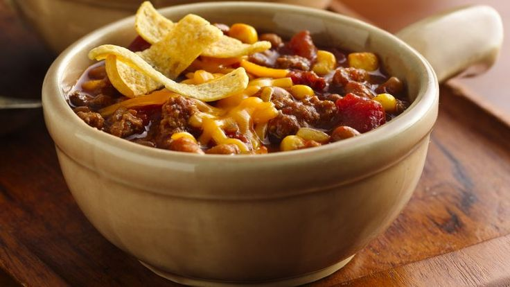 Barbecue Chili with Corn