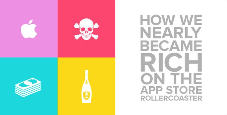 How we nearly became rich on the App Store rollercoaster