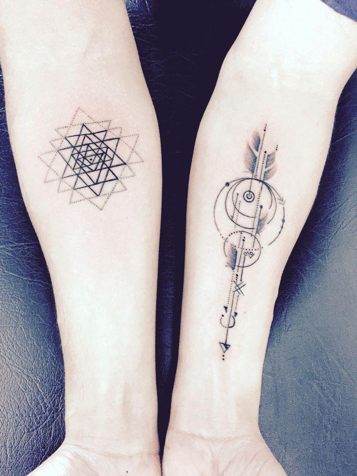 Image Result For Sri Chakra Tattoo Tattoos Arrow Tattoos