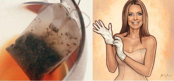 Herbata ci posprząta... Na pewno o ty nie wiedziałaś...