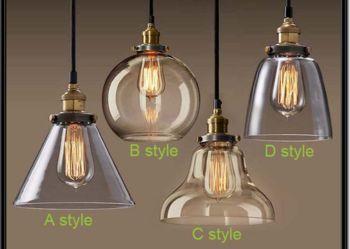 Lampa retro vintage wisząca SCANDINAVIAN style