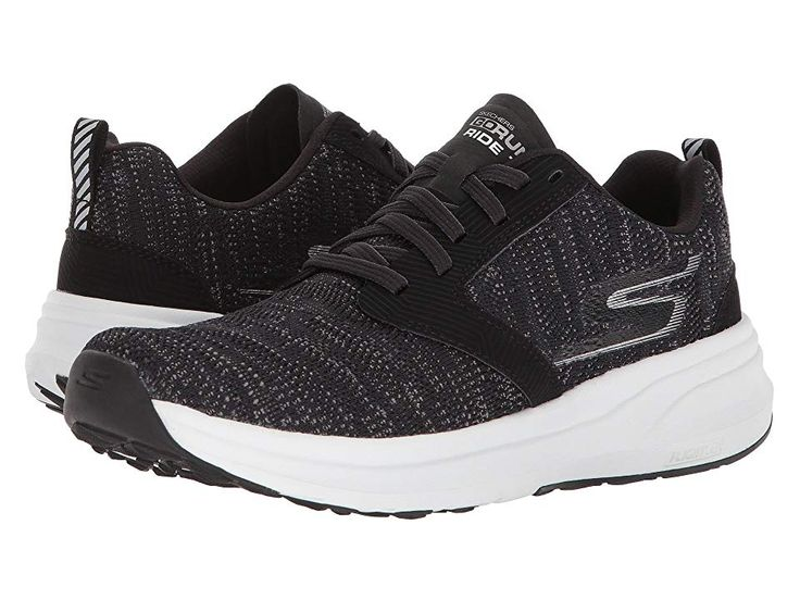 SKECHERS Go Run Ride 7 Women's Running Shoes BlackWhite