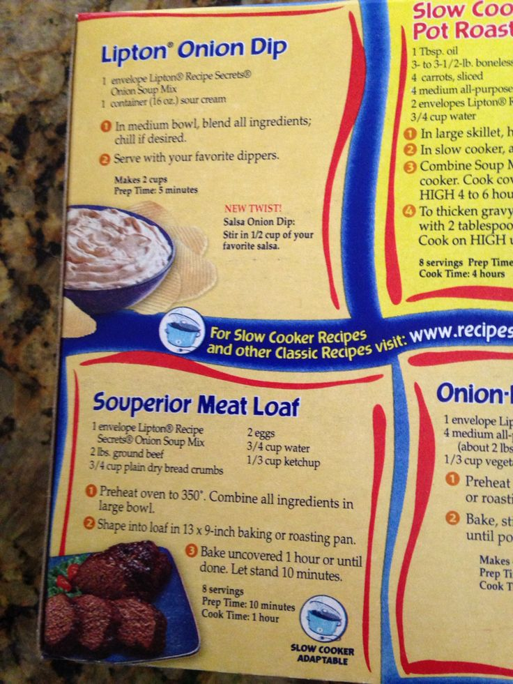 Campbell French Onion Soup Meatloaf