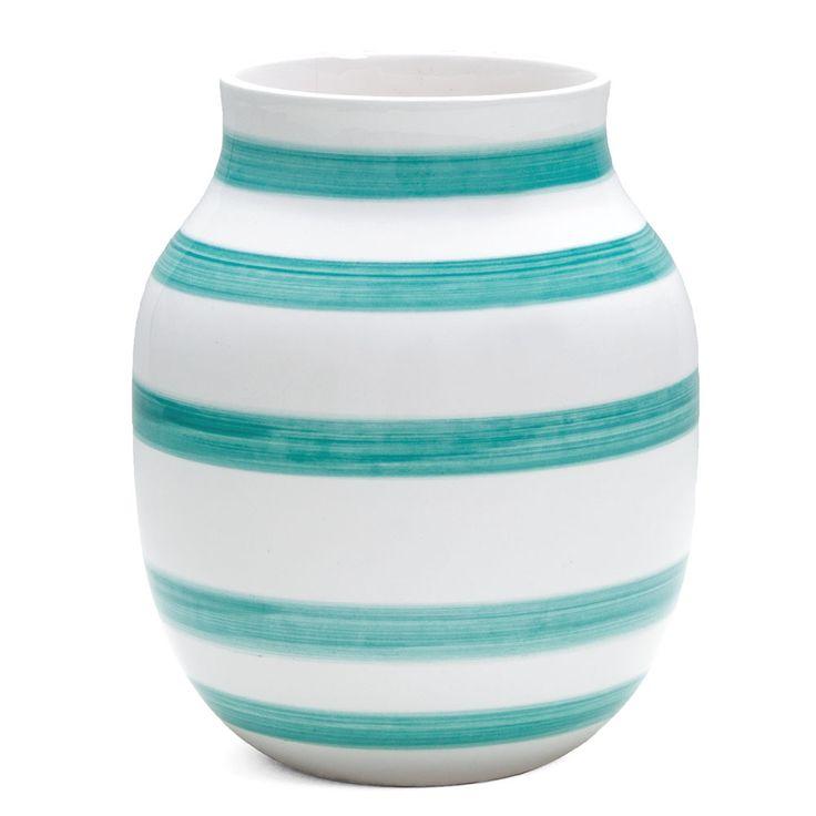 Omaggio Vase Lysegrønn Medium, Kähler