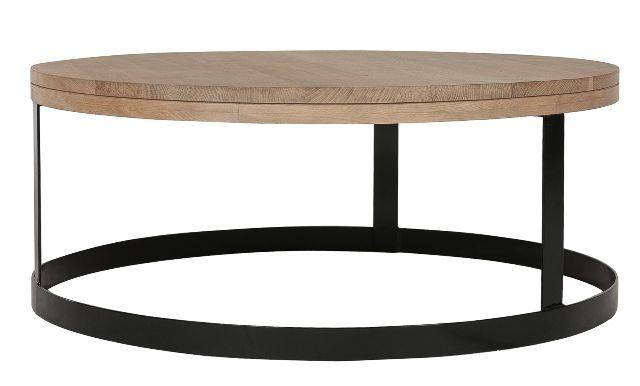 GlobeWest - Palma Round Coffee Table