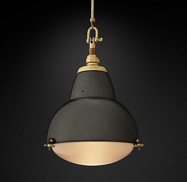 1950s Paris Street Lamp Pendant Pendant Lamp Street Lamp Glass Diffuser