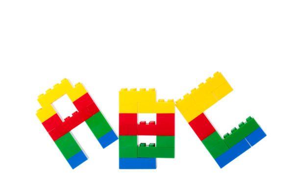 Lego alphabetlego alphabet - Stock photo